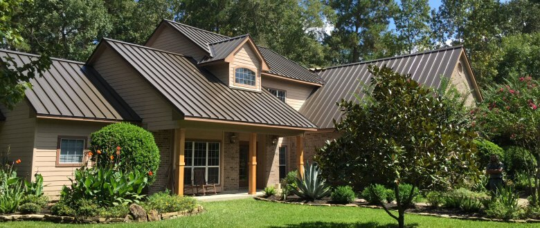 Steel Standing Seam Metal Roofs