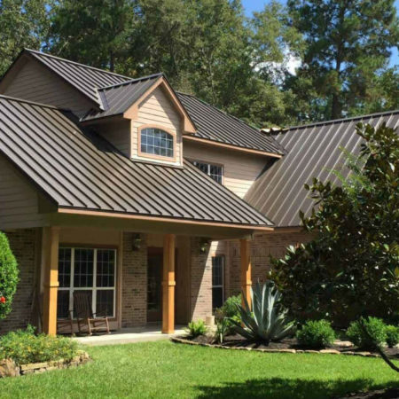 Pearland TX Metal Roof Installation
