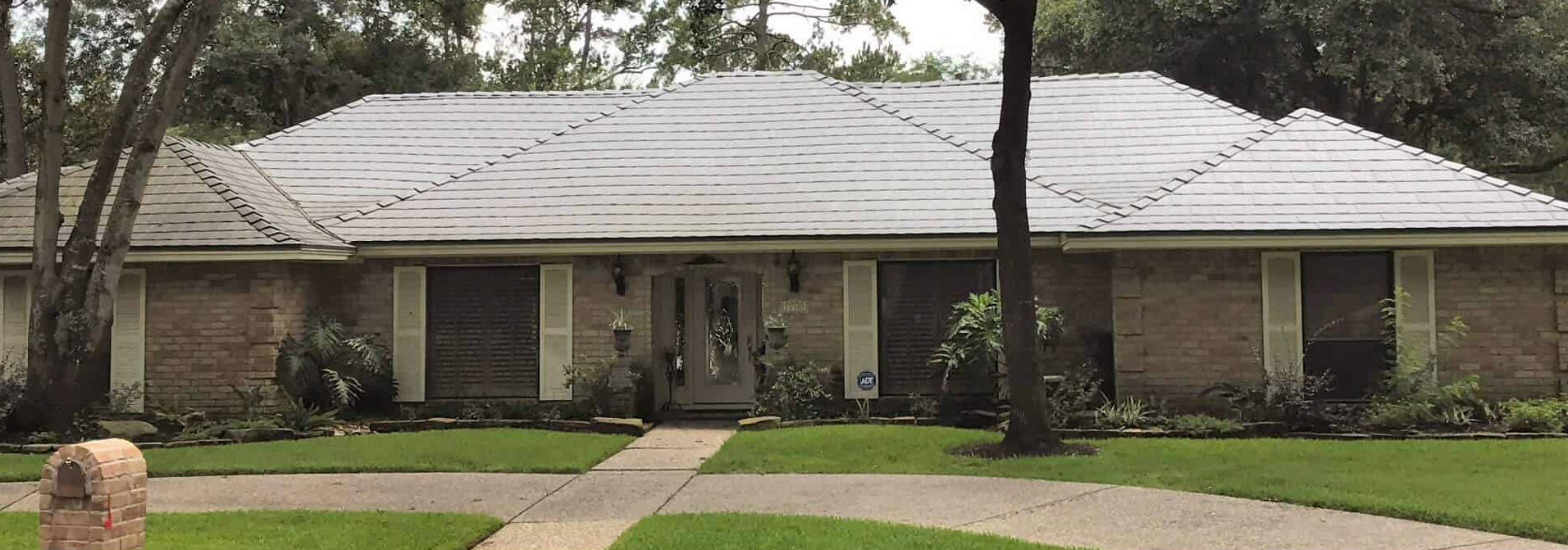 The Woodlands TX Metal Roof Over Shingles Installation