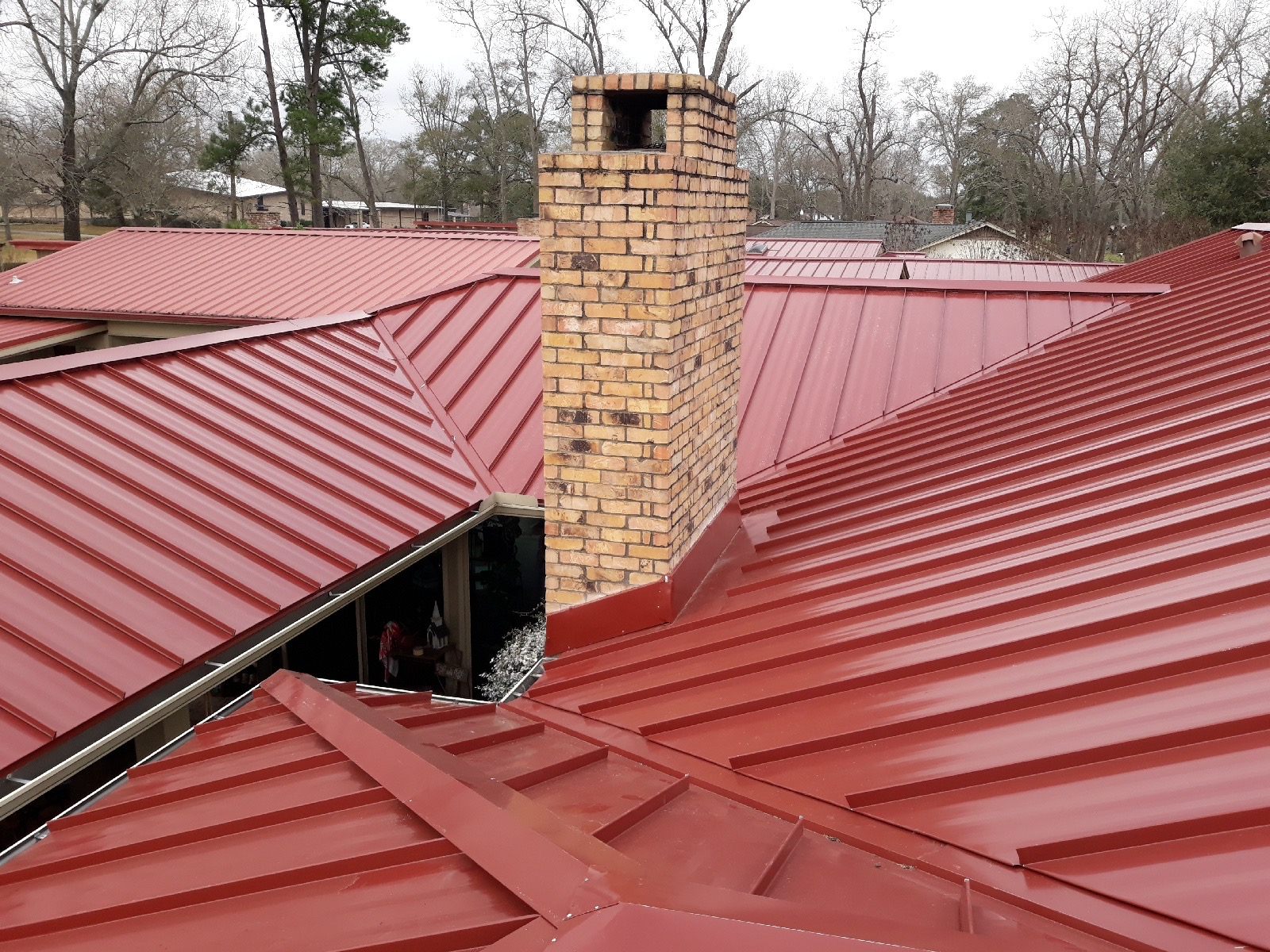 Champions Forest TX Metal Roofing Prices