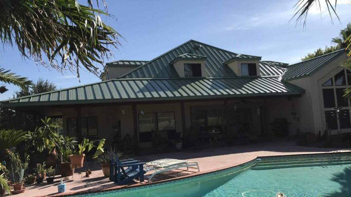 League City TX Metal roofing