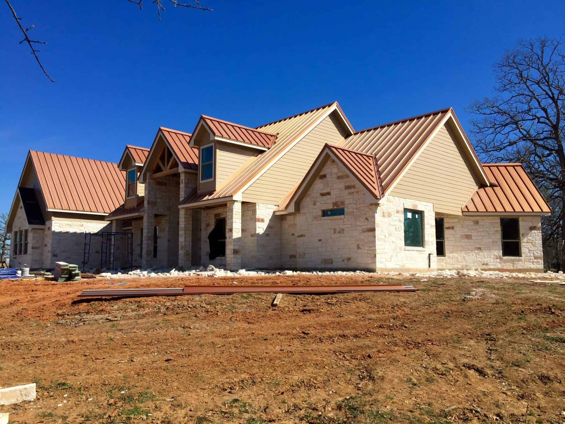 Tomball TX standing seam metal roof