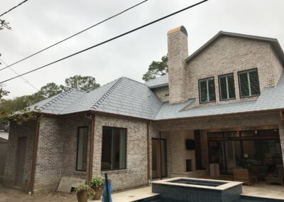Conroe TX standing seam metal roof