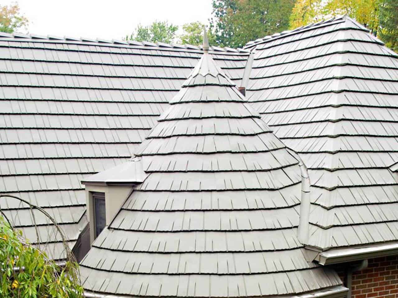 Houston TX pan metal roofing