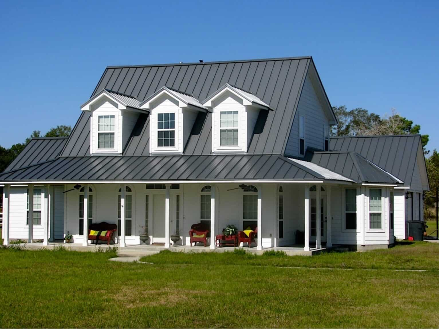 Houston TX Steel Roofing Contractors
