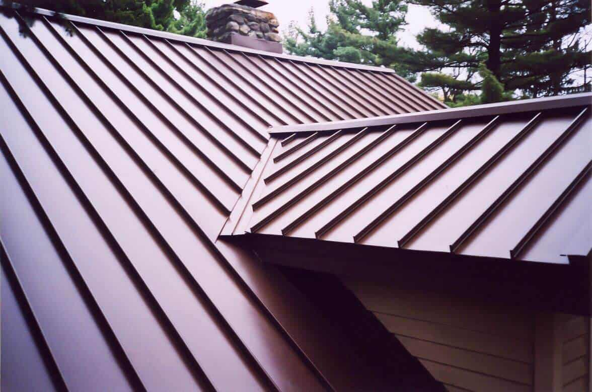 Houston TX Standing Seam Metal Roof Installation