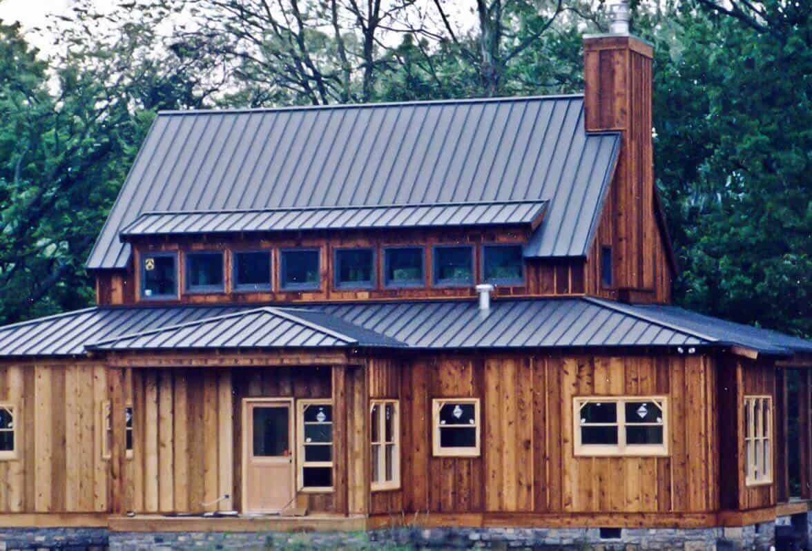Houston TX standing seam metal roofing